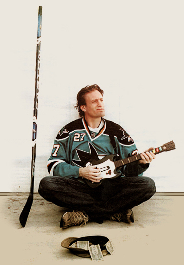 Jeremy Roenick guitar hero